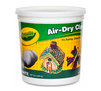 5 Pound White Air Dry Clay Resealable Bucket Front View