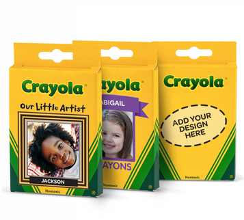 Crayola Crayons Personalized 8 Count