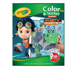 Color and Sticker Book Rusty Rivets front cover