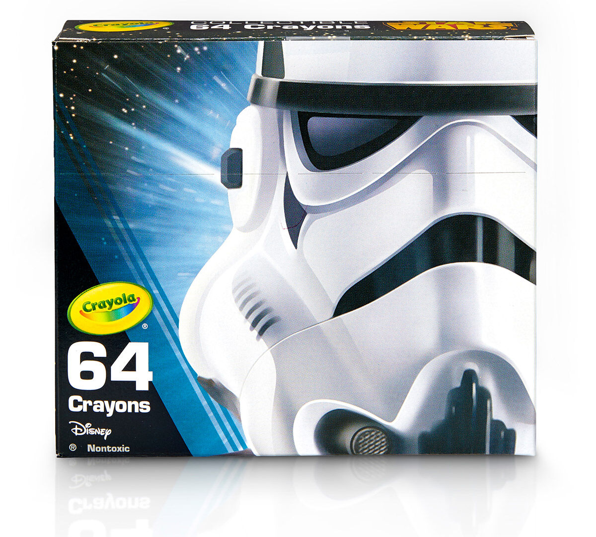 Star Wars, Stormtrooper 64 Count Crayon Box