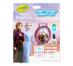 Frozen 2 Ooey Gooey Fun Slime Kit Front View of Package
