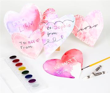 Valentine's Day Secret Reveal Card