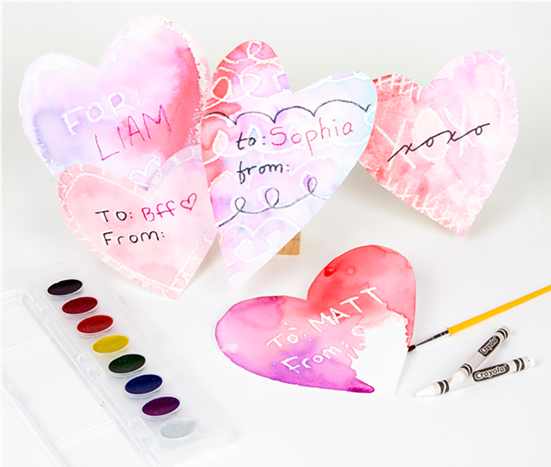 Secret Reveal Valentines Craft Kit