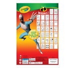 Crayola Color and Activity Book Incredibles 2 Front Cover