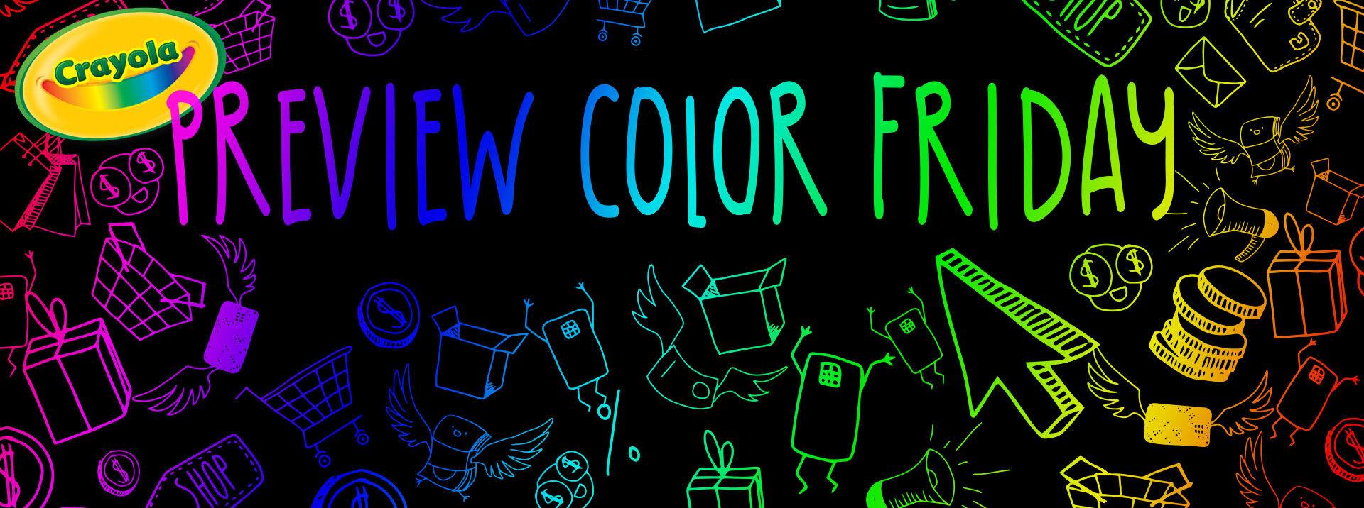 Crayola Black Friday