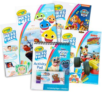5-in-1 Color Wonder Mess Free Activity Set