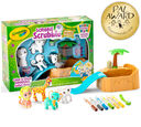 Scribble Scrubbie Safari Tub Set Front View Pal Award