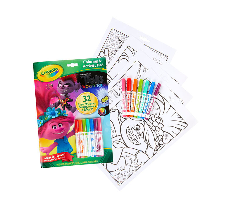 Trolls Color & Activity Set