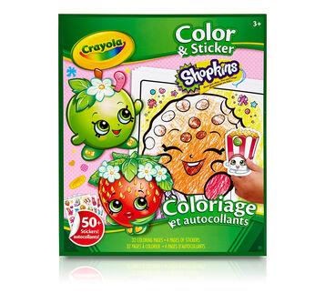 Coloring & Sticker Book Shopkins