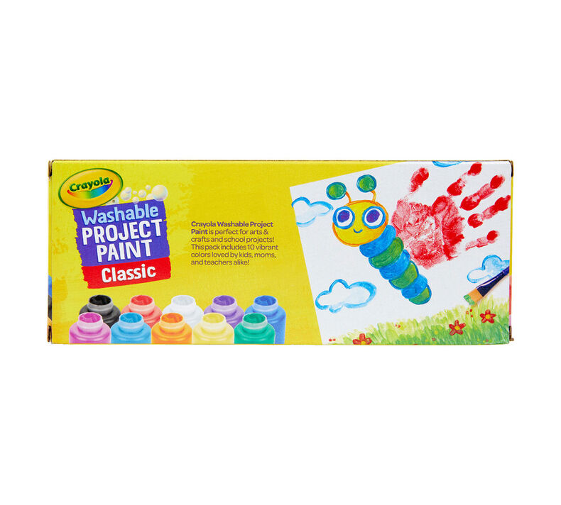 Washable Kids Paint, 10 Count