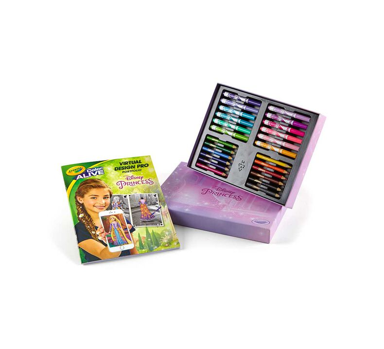 Virtual Design Pro Portfolio Princess Crayola
