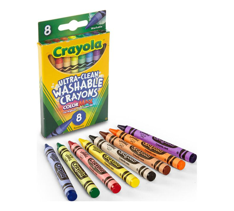 Washable Crayons 8 ct.