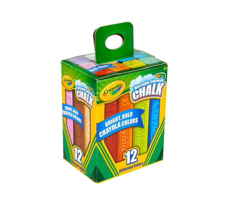 Sidewalk Chalk, 12 Count