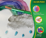 Acrylic Paint, 6 Count