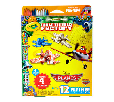 melt n mold factory disney planes refill pack crayola