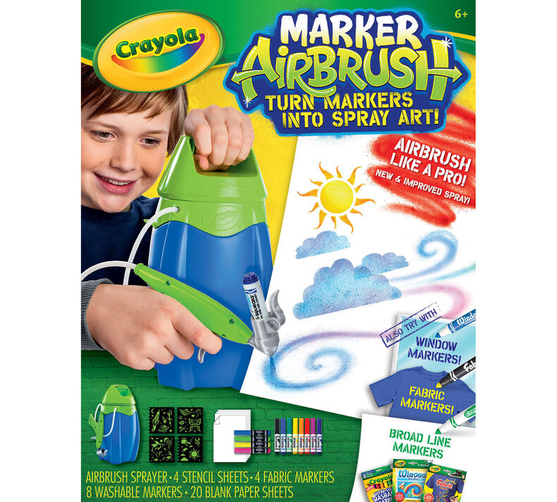 Marker Airbrush