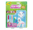 Scribble Scrubbie Safari Animals, Toucan & Zebra, 2 Count Front View of Package