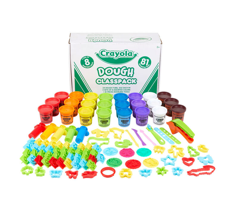 Dough Classpack with Tools, Over 100 Pieces