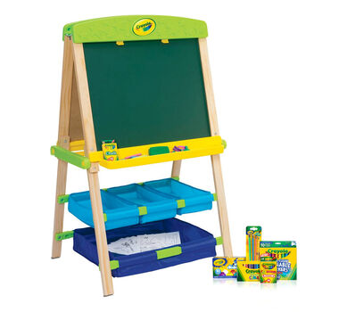 Draw N Store Art Easel Deluxe Crayola Com