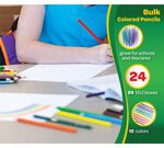 12 ct Long Colored Pencils, 24 boxes per case product included