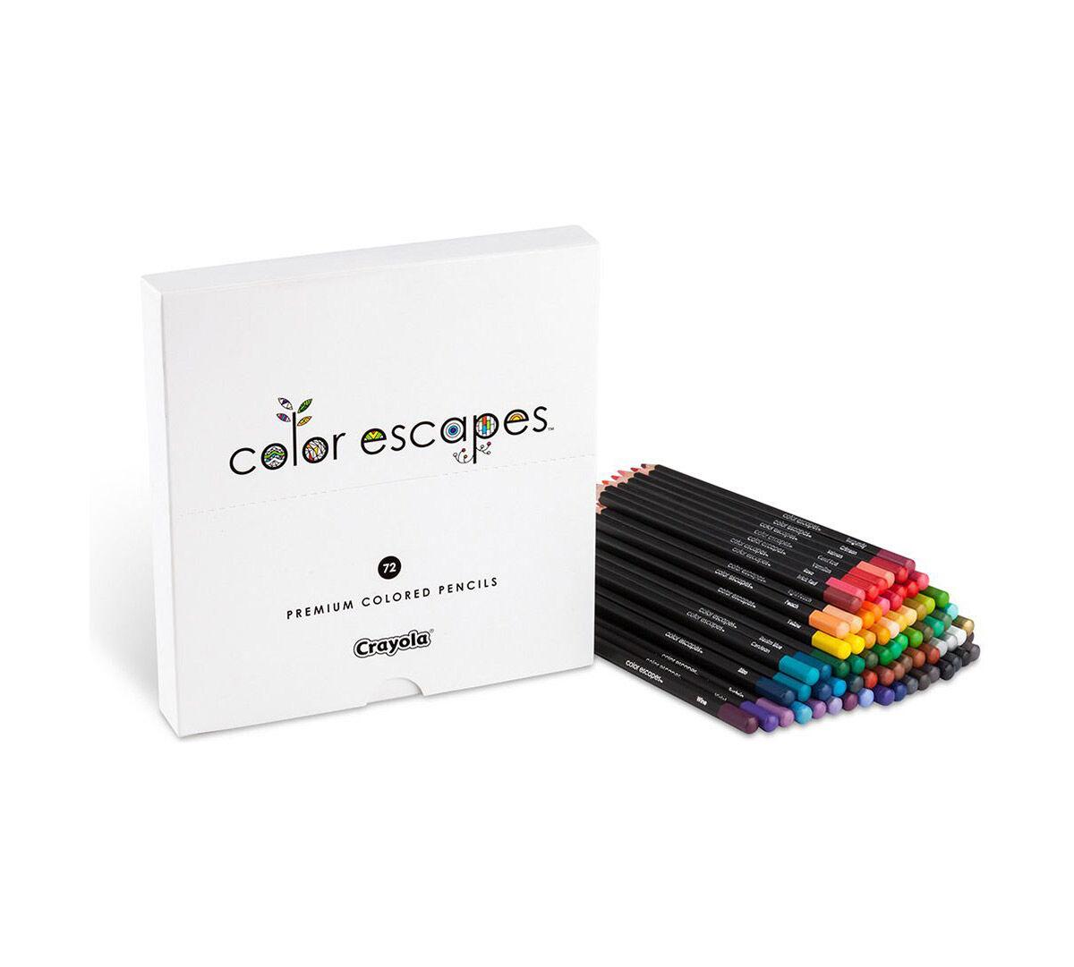Color Escapes Premium 72 Ct Colored Pencils Crayola - Premium-color-pencils