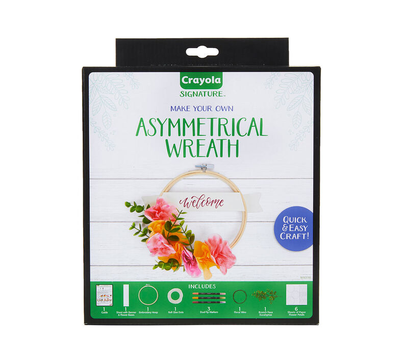 Signature Asymmetrical Wreath Craft Kit