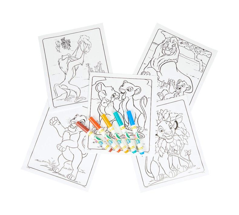 Color Wonder Lion King Coloring Pages Marker Crayola Com Crayola
