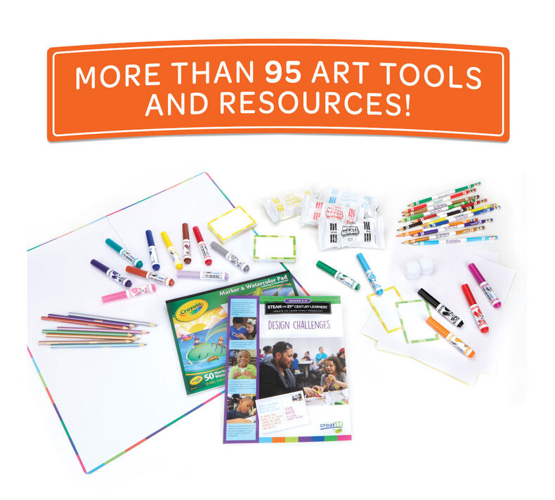 creatED Create-to-Learn STEAM Activity Kit, Grades 3-5