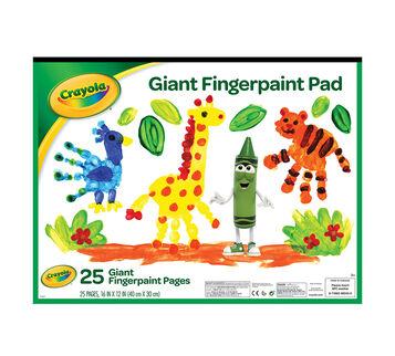 Giant Fingerpaint Pad front cover