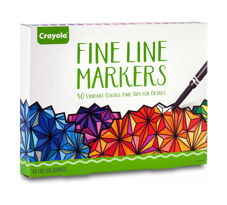 Fine Line Markers 40 count