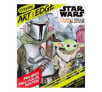 Star Wars The Mandalorian Coloring Book