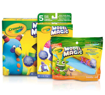 Model Magic Kids Party Craft & Activity Set Front View of Craft Kit