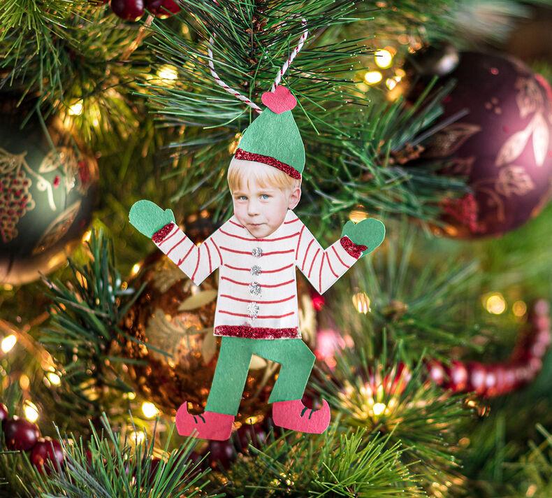 Elf Ornaments Craft Kit