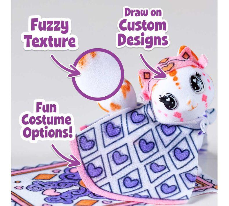 Scribble Scrubbie Pets Princess Playset