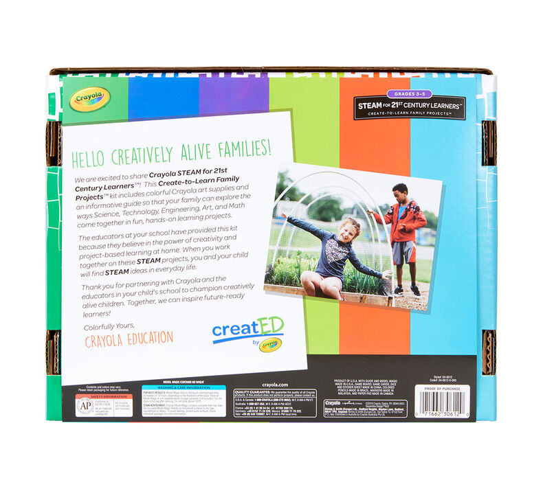 creatED® Family Engagement Kits, STEAM for 21st Century Learning: Grades 3-5: Design Challenges