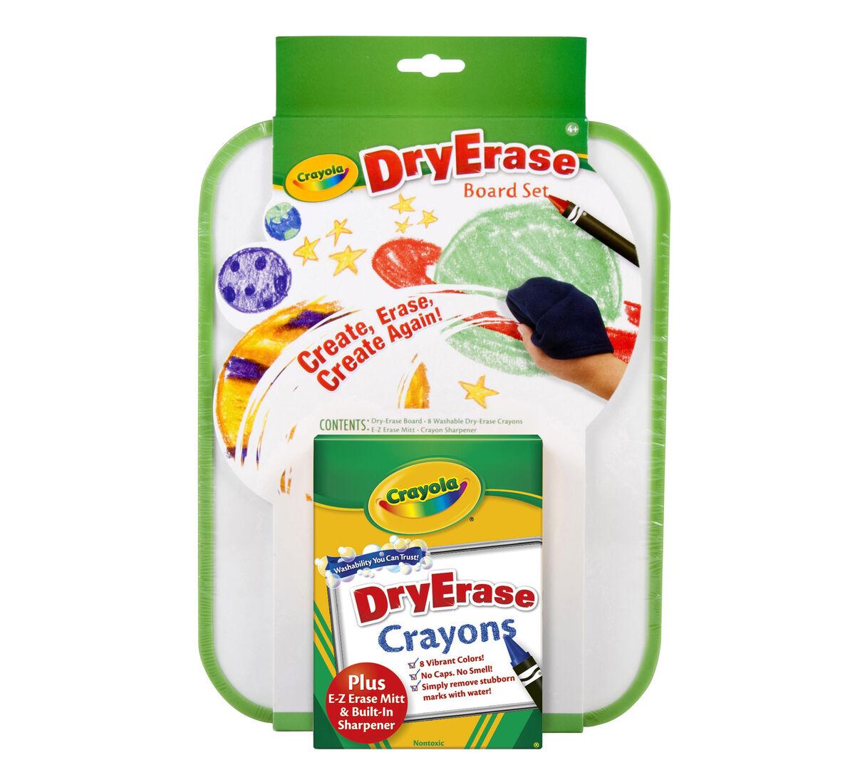 Dry-Erase Crayon Board Set