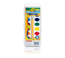 Washable Watercolors, 16 Count Front View