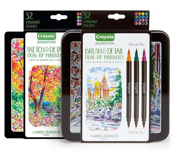 Signature Sketch & Detail and Brush & Detail Markers Set