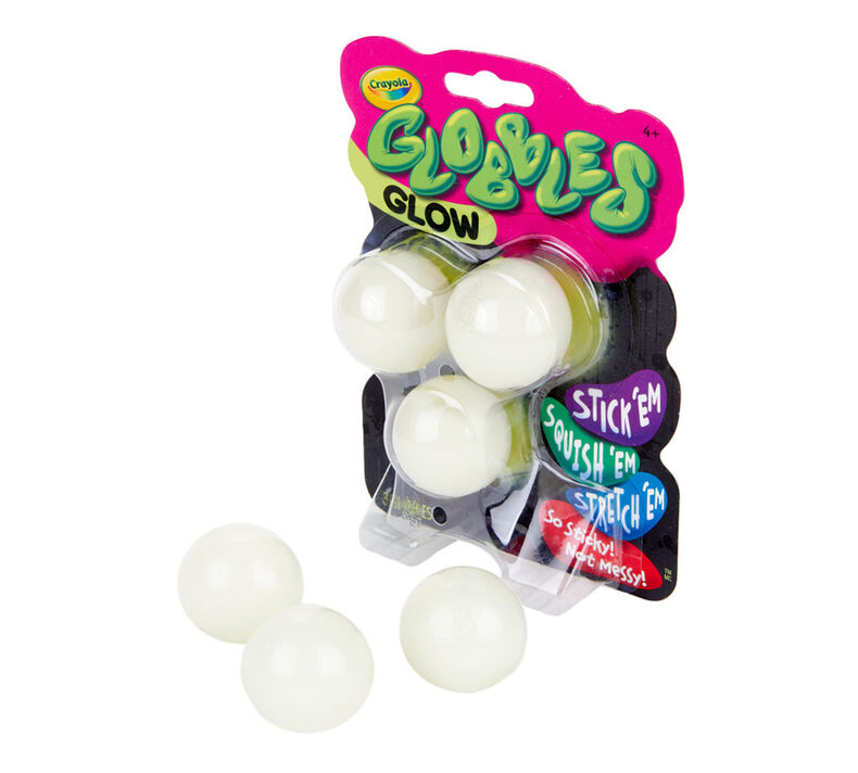 Glow in the Dark Globbles, 3 Count
