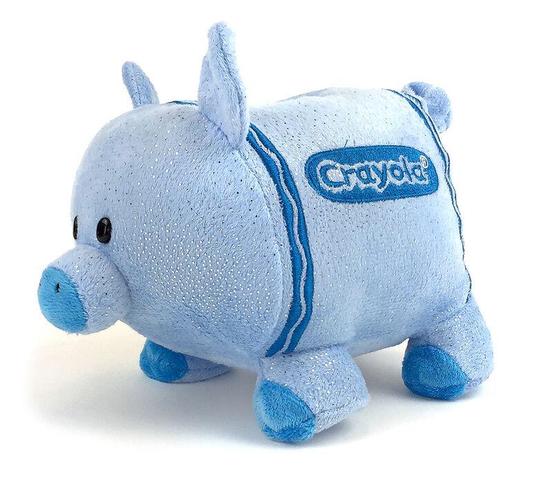 Plush Piggy Bank-Choose your color