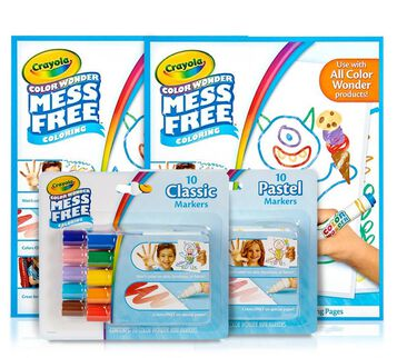 Color Wonder Markers and Paper Coloring Set products included