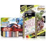 Marvel Avengers Chalk & Coloring Gift Set