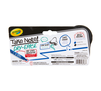 Low Odor Dry Erase Markers, Chisel Tip, 2 Count Back View