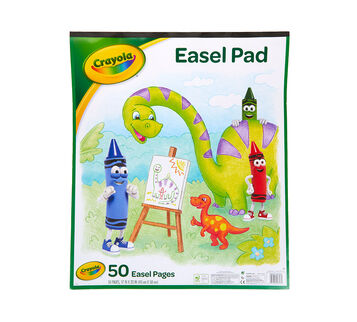 Crayola Easel Pad front cover