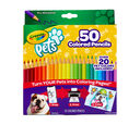 Crayola Pets 50ct Colored Pencils
