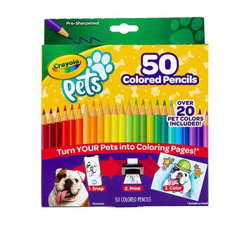 Crayola Pets 50ct Colored Pencils