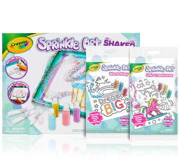 Sprinkle Art Shaker with 2 Activity Kits