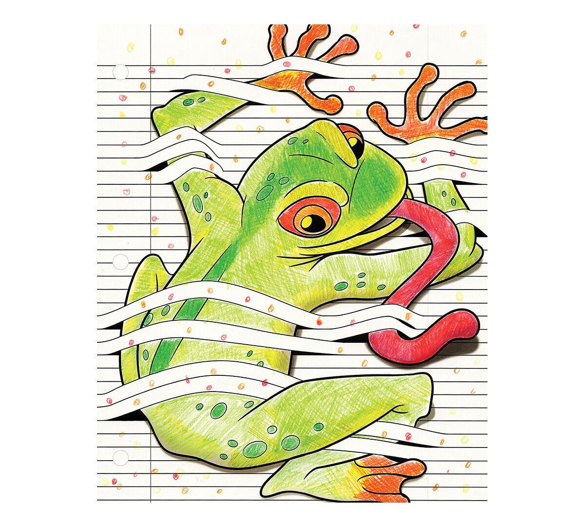 Crayola Art With Edge Optical Illusions 40 Aged Up