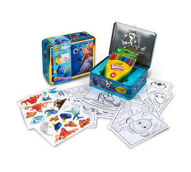Finding Dory, Creative Storage Tin with Twistable Crayons