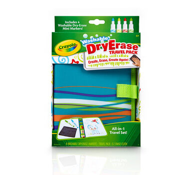 Dry Erase Travel Pack with Dry Erase Pipsqueak Markers
